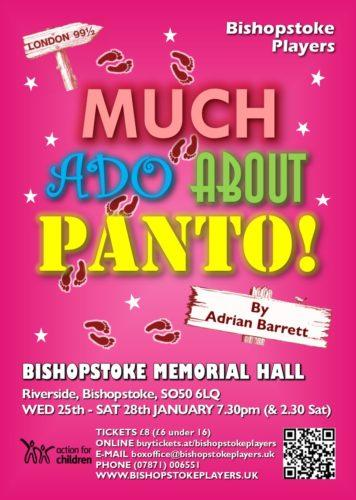 Much Ado About Panto poster