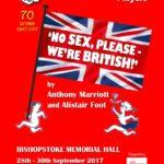 No Sex, Please - We're British! programme cover