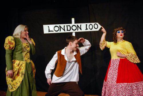 Much Ado About Panto publicity photo