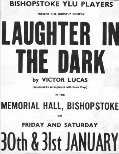 1981 BP poster Laughter in the Dark