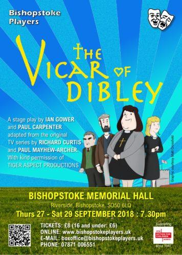 The Vicar of Dibley poster